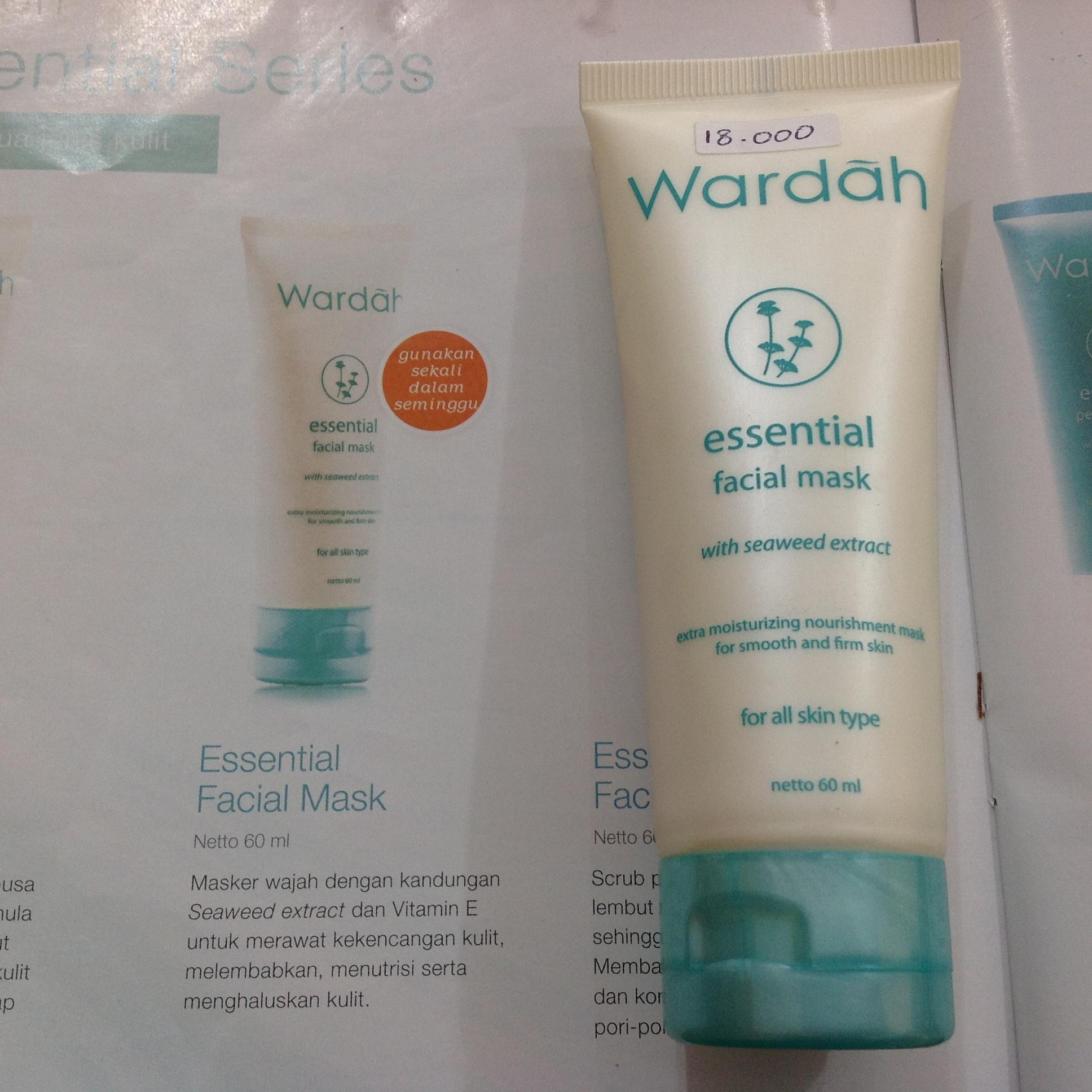 Wardah Essential Facial Scrub 2 Botol Daftar Harga Terlengkap 600 Ml Source Update