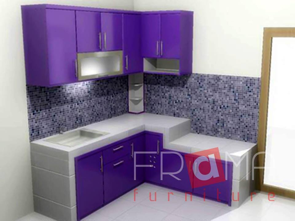 Jual dapur kitchen set lemari dapur murah meriah maulana for Jual peralatan kitchen set