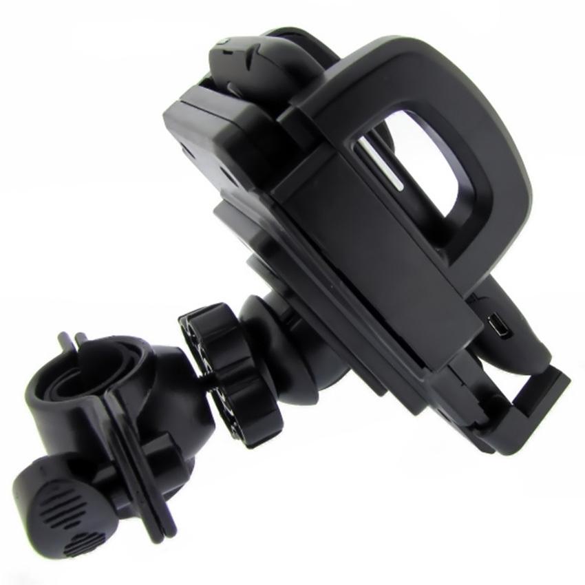 Jual Holder HP Handphone FDT Motor Sepeda Bisa di Stang & Spion Kuat Kokoh - UnlimitedStore