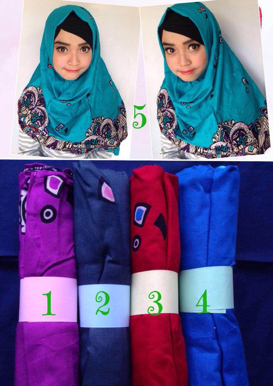kerudung / jilbab / hijab / pashmina / pashminamonochrome / monochrome