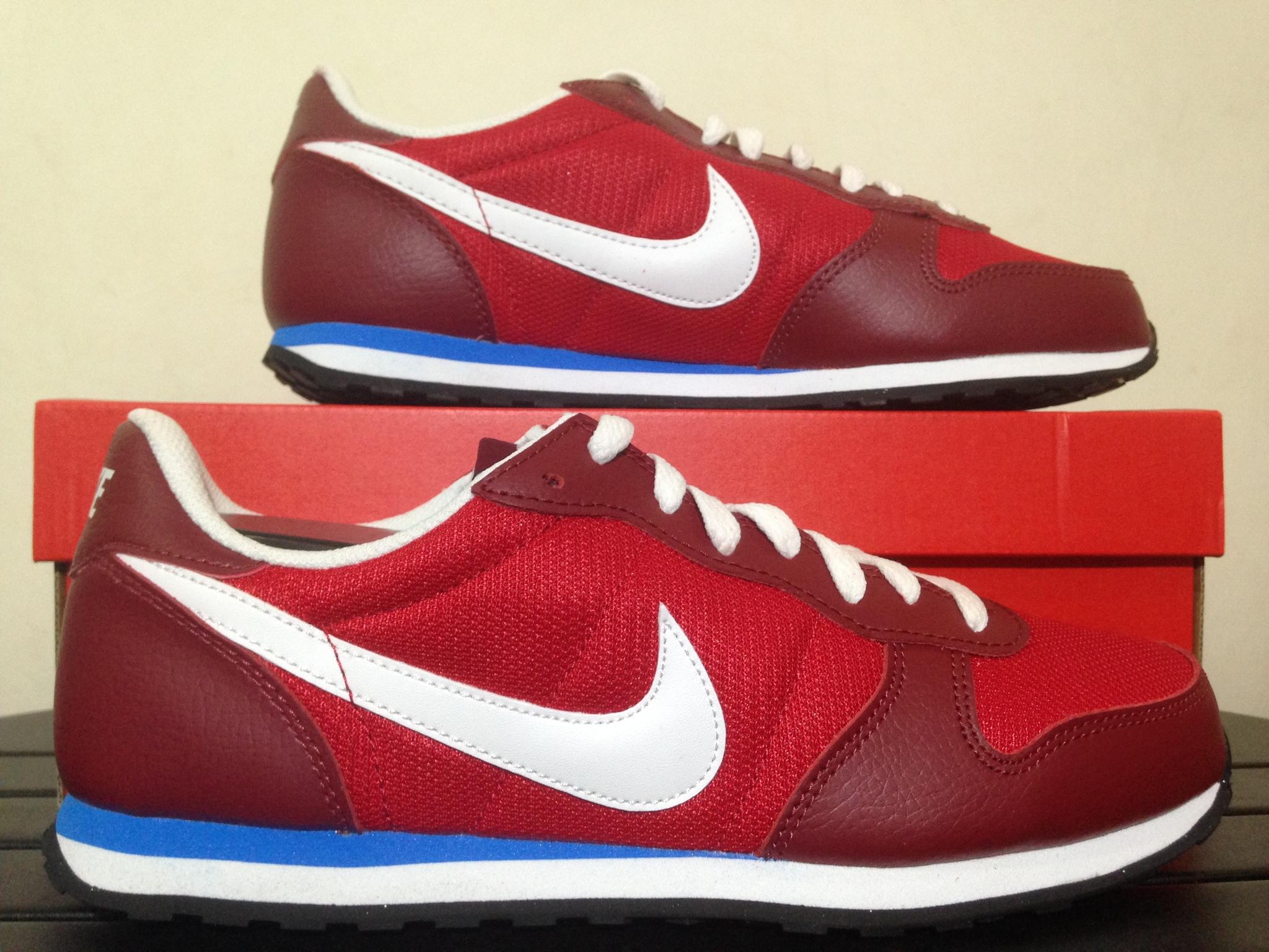 Jual Diskon Sepatu Casual Original Nike Genicco TM Dark ...