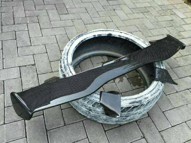 Wing belakang / Spoiler Carbon Kevlar Honda Jazz Gk5 /Universal Jazz