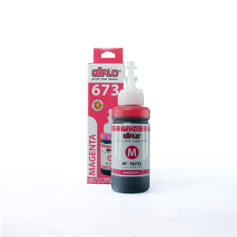 Tinta Aiflo L-series 673 Magenta Untuk Printer Epson L800 L850 L1800