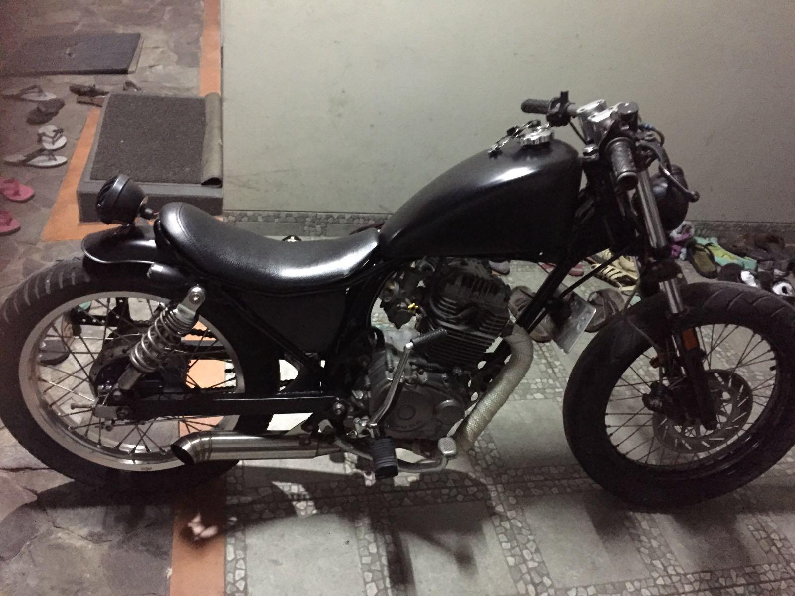 78 Modifikasi Motor Gl Max Harley Terbaru Kuroko Motor