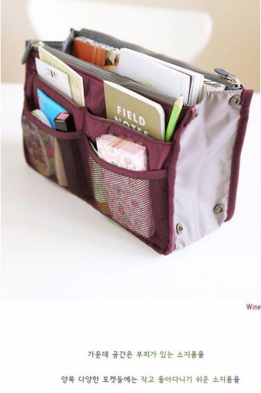 Korea Dual Bag - Tas Organizer Bag in Bag ZYC2