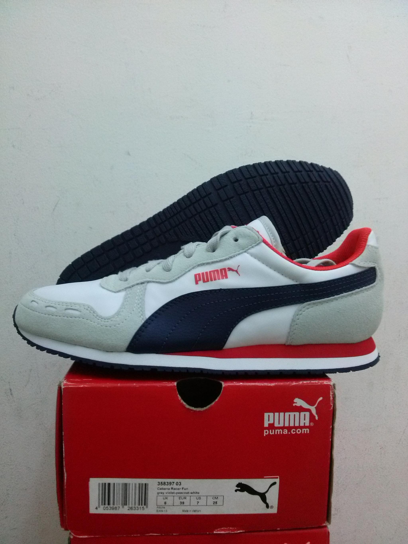 Jual Sepatu Casual Puma CABANA Racer Fun Art 358397 03 ... 615333e5cd