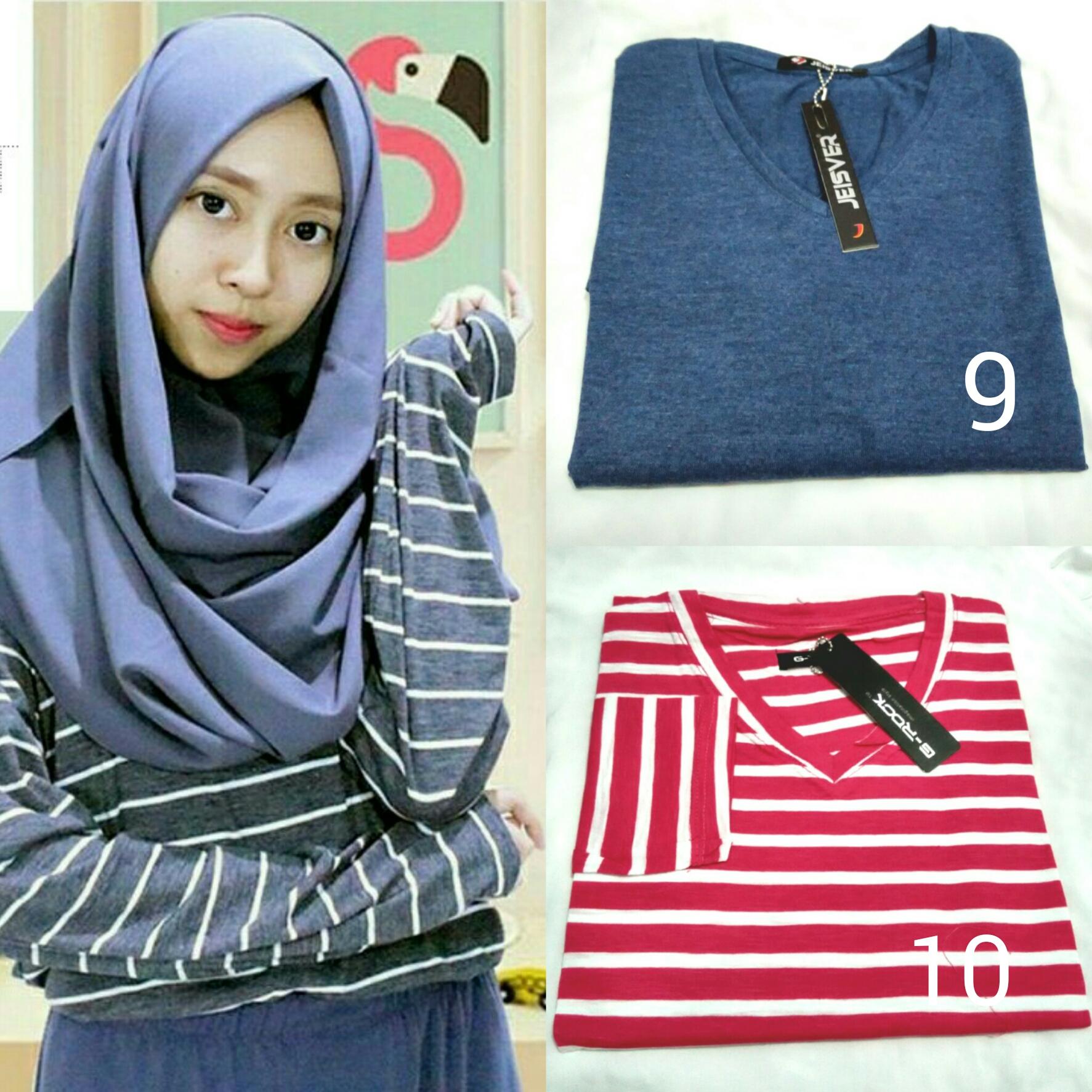 Atasan / Blouse / Longtee / Hijab / Kaos Panjang / Cewek /