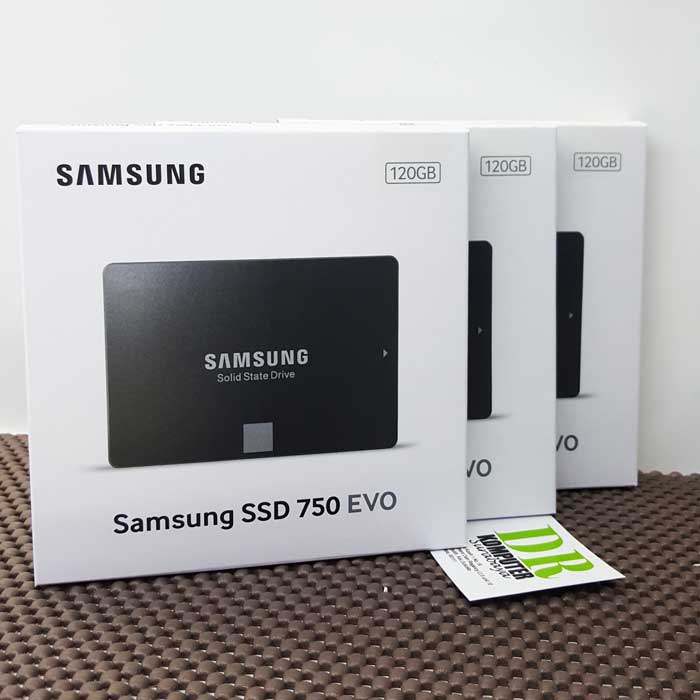 Samsung SSD Evo 750 - 120GB New Product