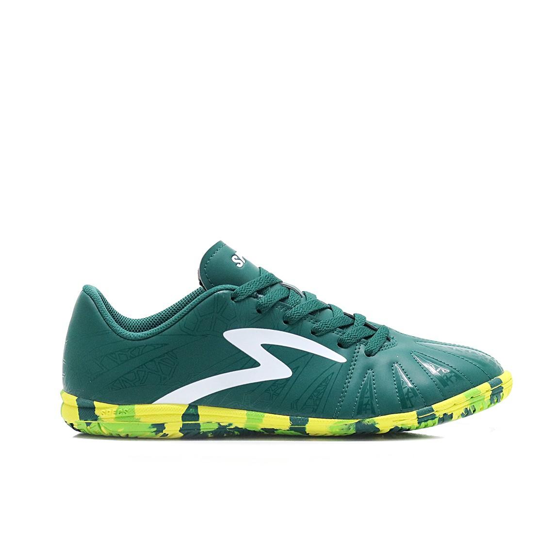 Jual Sepatu Futsal Specs Tomahawk In - Moss Green Spot