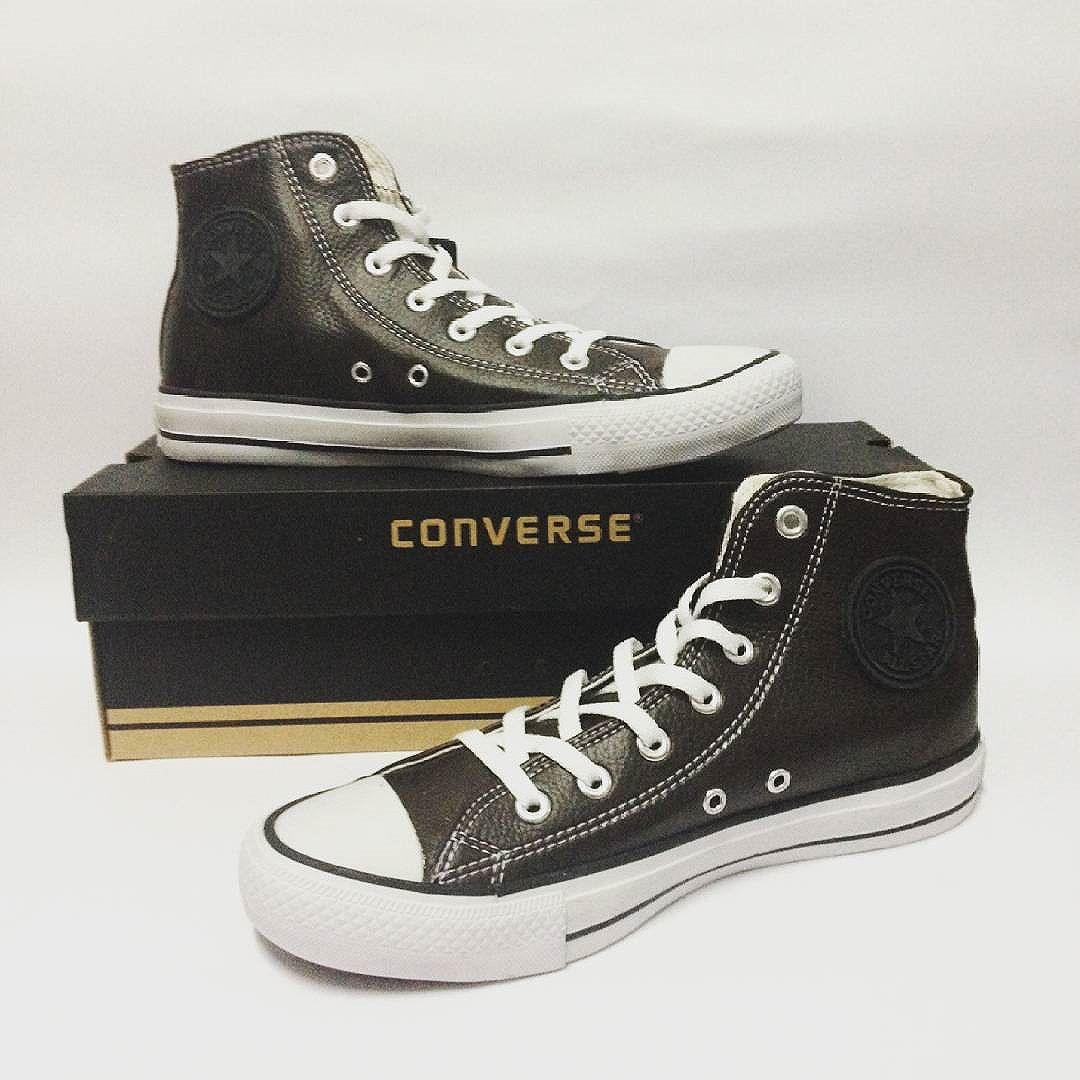 Jual sepatu converse leather (kulit) high   sepatu terbaru   sepatu kulit  ... 05409d8b97