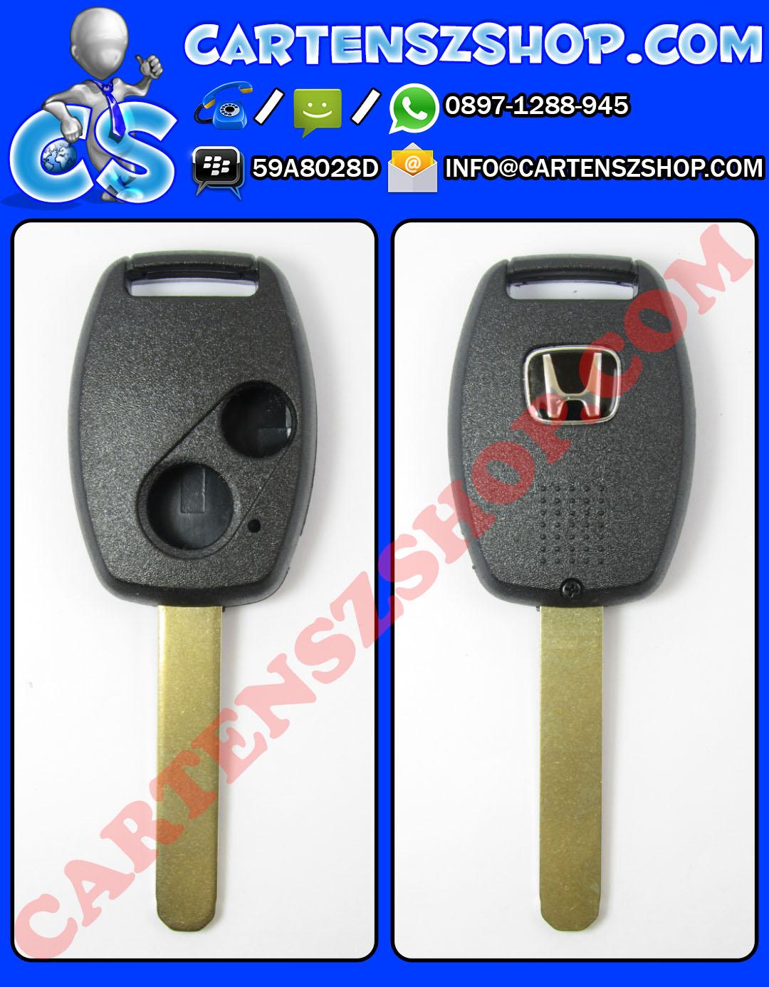 Casing Kunci 2 Tombol Mobil Honda Mobilio, Brio, Jazz, CRV, Civic, Dll