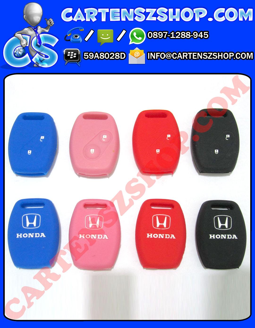 Silikon Kunci 2 Tombol Mobil Honda Jazz, Mobilio, Brio, Civic, Dll