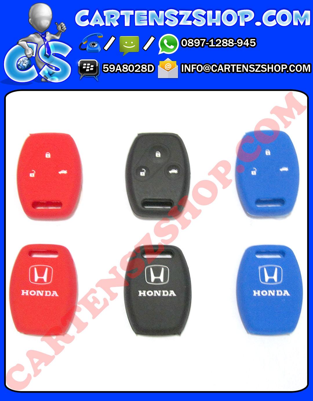 Silikon Kunci 3 Tombol Mobil Honda Accord, Jazz, CRV, Dll