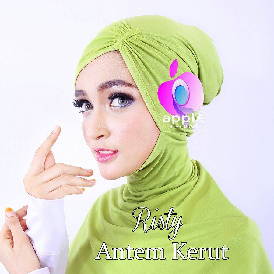 Inner Ninja Antem Kerut Risty by Apple Hijab