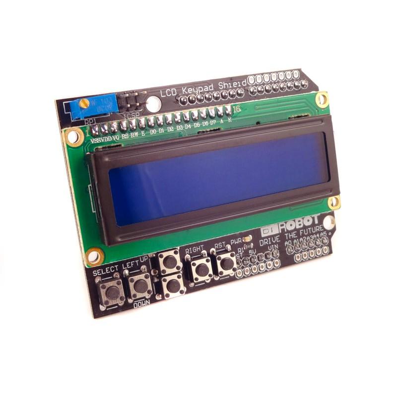 Jual lcd keypad shield for arduino freelab tokopedia