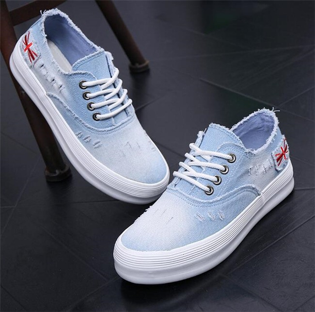 Jual sepatu kets wanita sepatu sneaker jeans bendera england boot cewek - denishop22 | Tokopedia