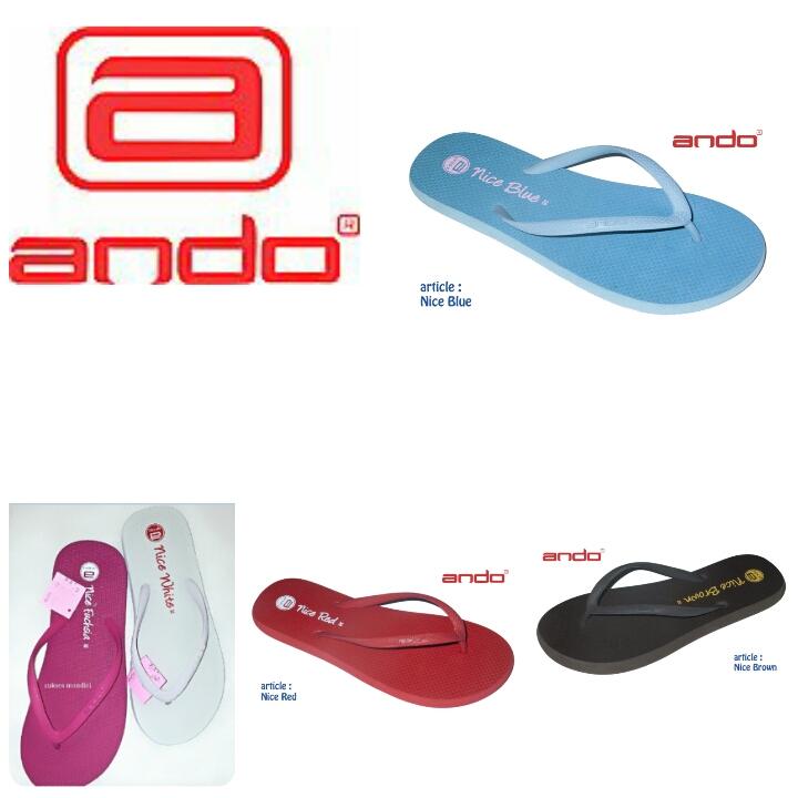 Jual Sandal Jepit Wanita / Ando Nice - Kota Bogor - Dosies Shoes | Tokopedia