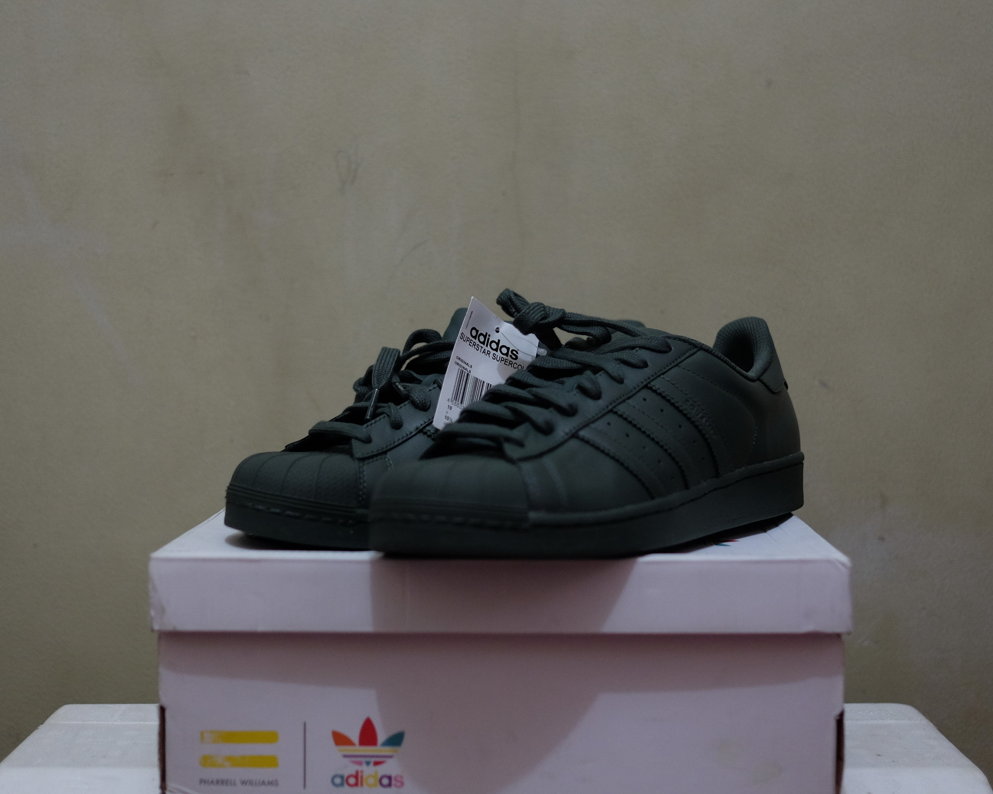 1f138d938ea50 Jual ADIDAS Superstar X Pharrell Williams Supercolor (not nike puma ...