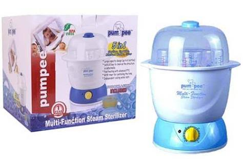 Pumpee 5 In 1 Multi Fungtion Steamer