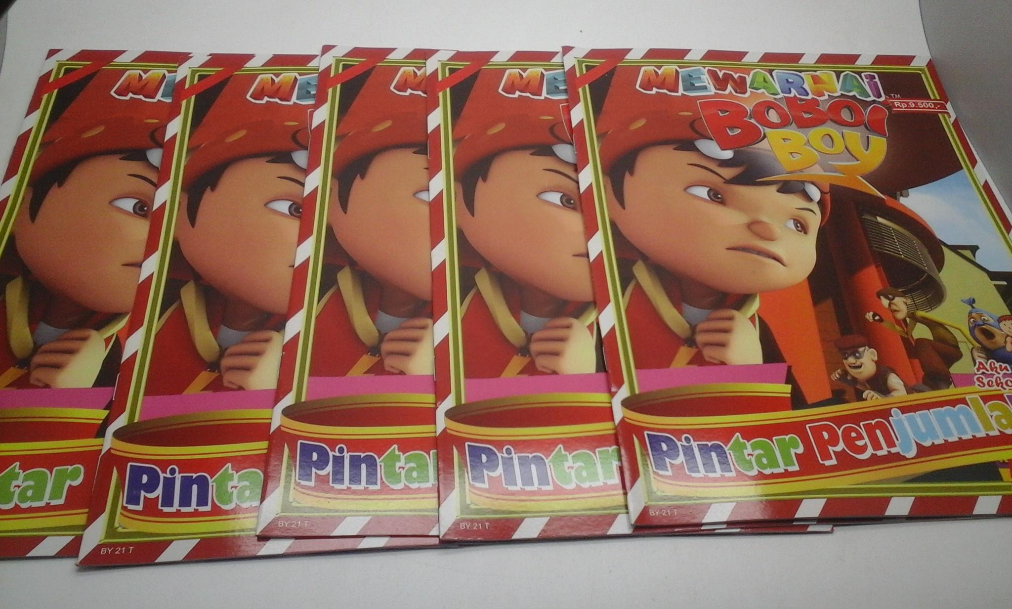 Jual Buku Mewarnai Gambar Boboboy Hidayah Print Tokopedia