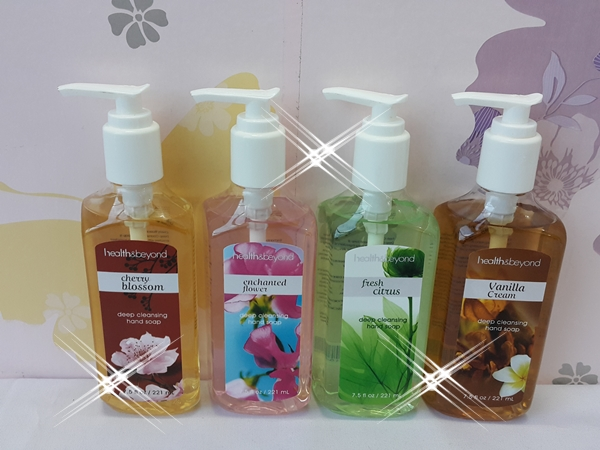 Hand Soap Liquid Deep Cleansing Health & Beyond, Sabun Tangan Cair