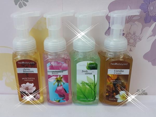 Hand Soap Antibacterial Gentle Foaming 221 Ml Health & Beyond