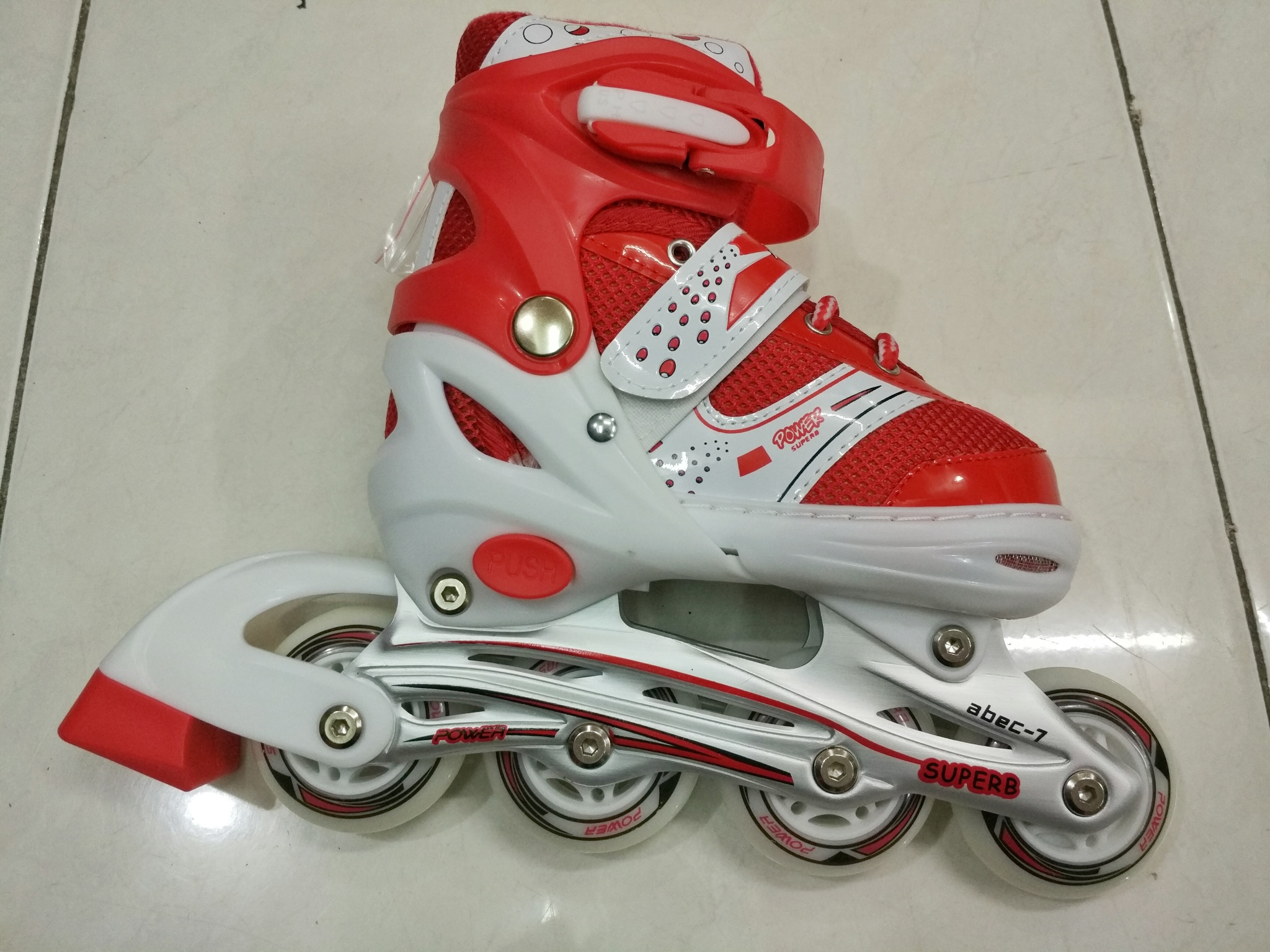Jual Beli Sepatu Roda Anak Inline Bajaj Power  Grosir Dan Eceran