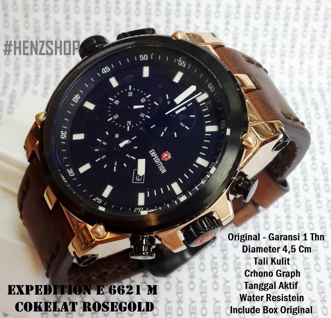 Jam Tangan Expedition E6665 Black Rose Gold Jual E Original Vinashopori Tokopedia 1117x1073