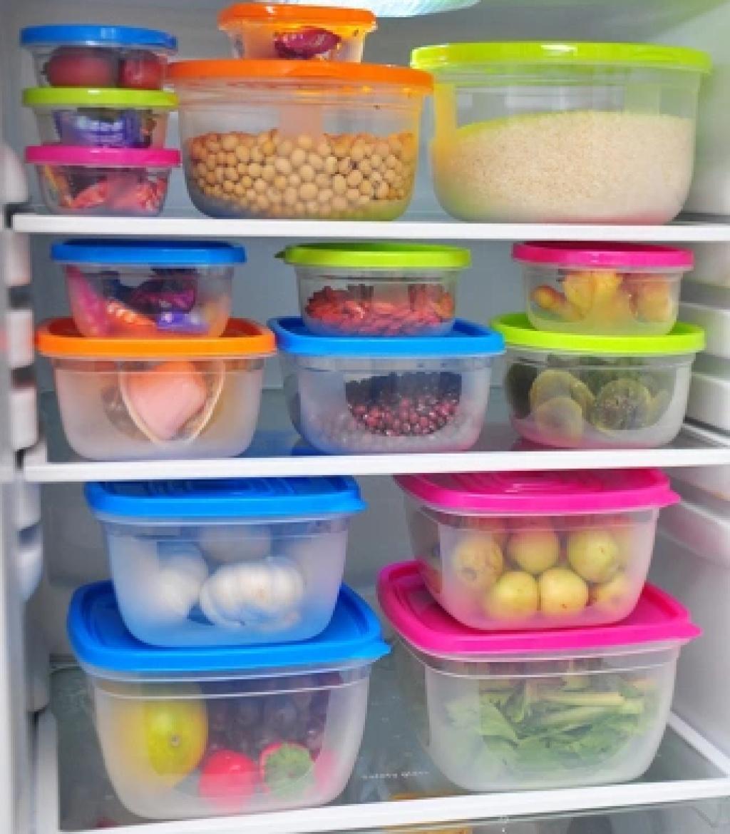 Jual BENTO Square Food Storage   Tempat Penyimpanan Makanan ... 5469a419e9