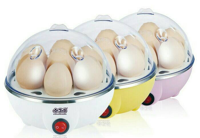 Egg Boiler Cooker Electric Pengukus Rebus Telur Elektrik Dapur Kitch