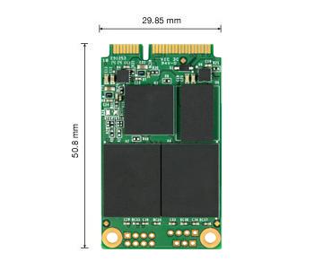 SSD - Transcend - SSD SATA 3 - 6GB / S MSA370 MSATA 128GB
