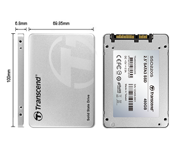 "SSD - Transcend - SSD SATA 3 - 2.5"" TLC SATA III 6GB / S Internal 240GB"