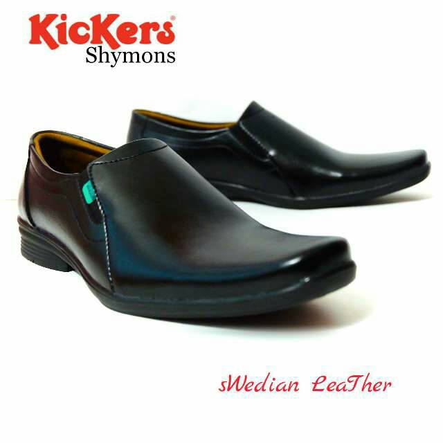sepatu pantofel kerja kantoran kickers shymons