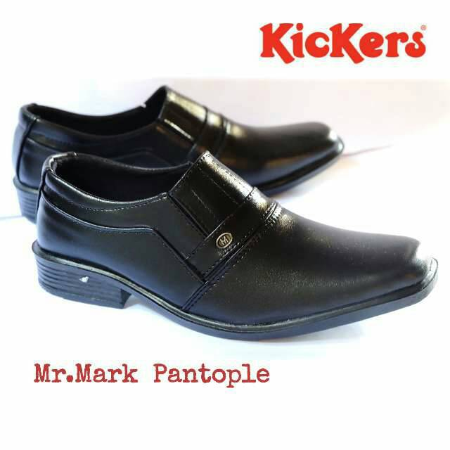 sepatu pantofel kerja kantoran kickers mr. mark