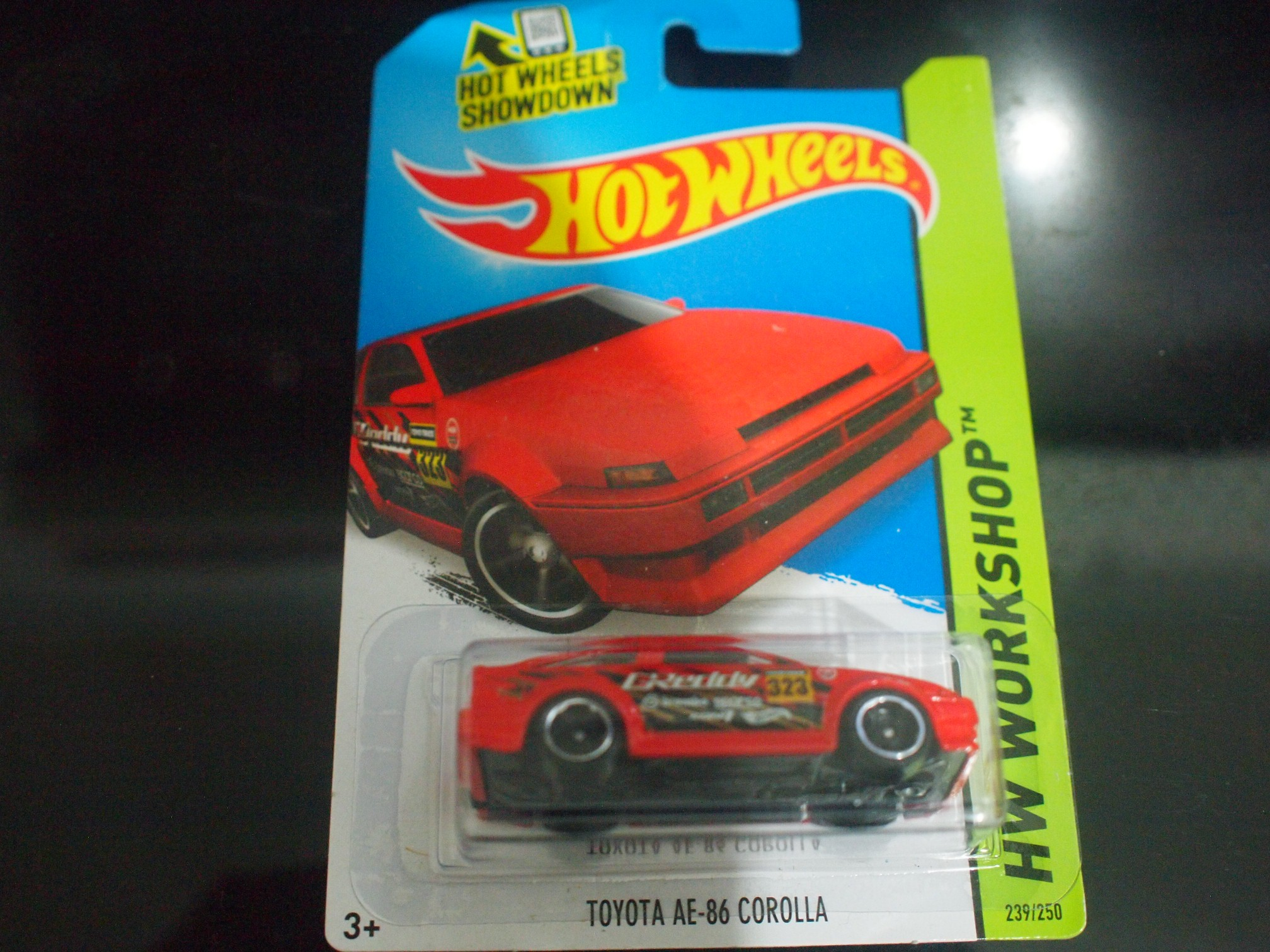 Jual Hot Wheels Toyota Ae 86 Corolla Merah Paunk Store Tokopedia Hotwheels Red