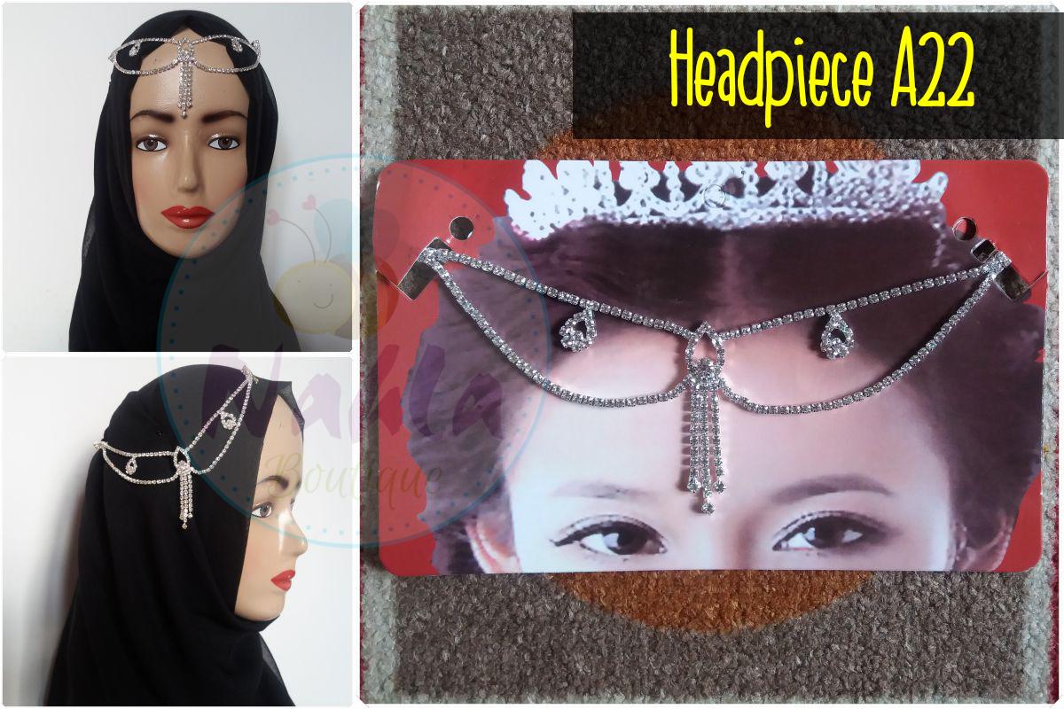 Headband / Headchain / Headpiece / Aksesoris Rambut atau Hijab