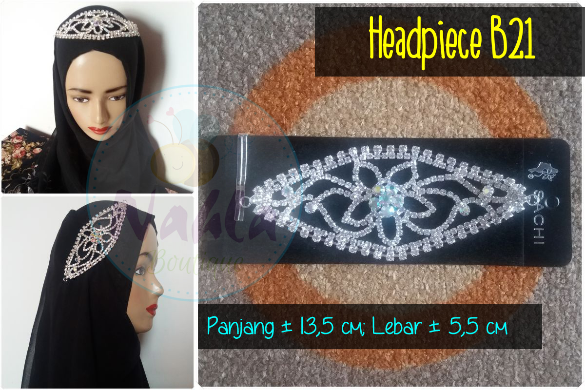 Headpiece / Bros Sanggul / Bros Rambut / Bros Hijab