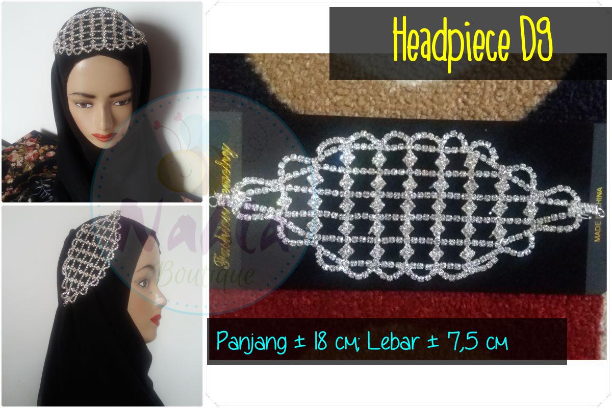 Headpiece / Bros Sanggul / Bros Rambut / Bros Hijab / Bros Jilbab 2