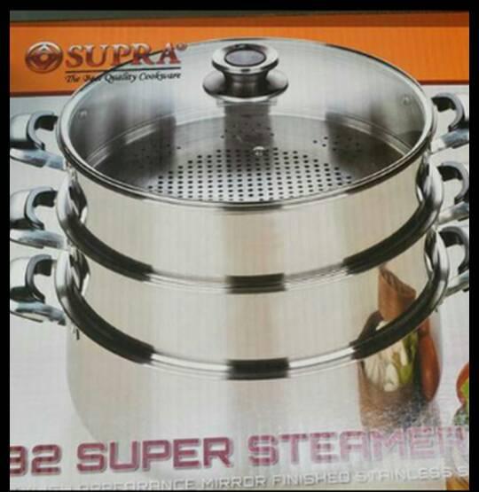 PANCI SUSUN 3 SUPRA SUPER STEAMER 32 CM