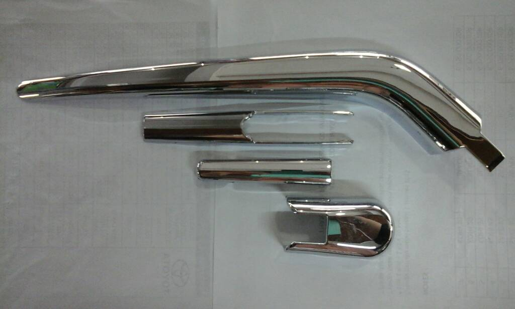 Cover Wiper Jazz Chrome