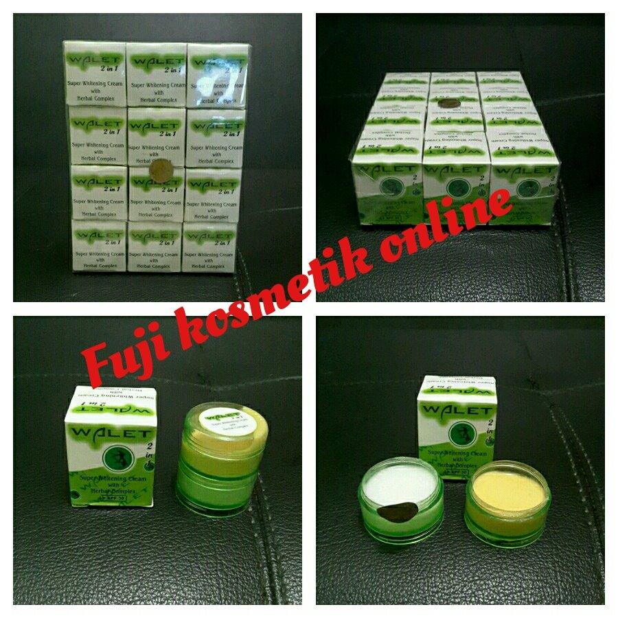 Jual Cream Perawatan Wajah Murah Walet 2in1 Fuji Kosmetik Online Tokopedia