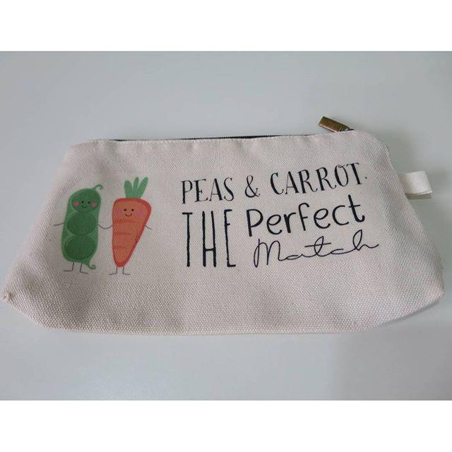 Tempat pensil peas and carrot