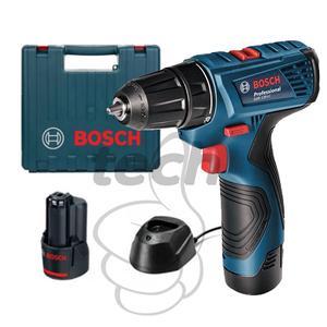 Mesin Bor Obeng Baterai / Cordless Drill Bosch Gsr 120 Li Jaminan Mu