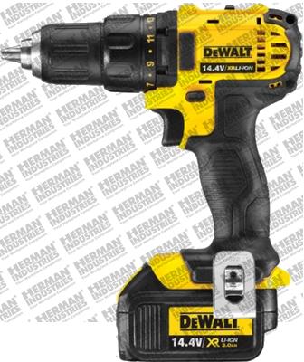 Dewalt DCD730L2-KR 14.4V Mesin Bor Obeng Baterai