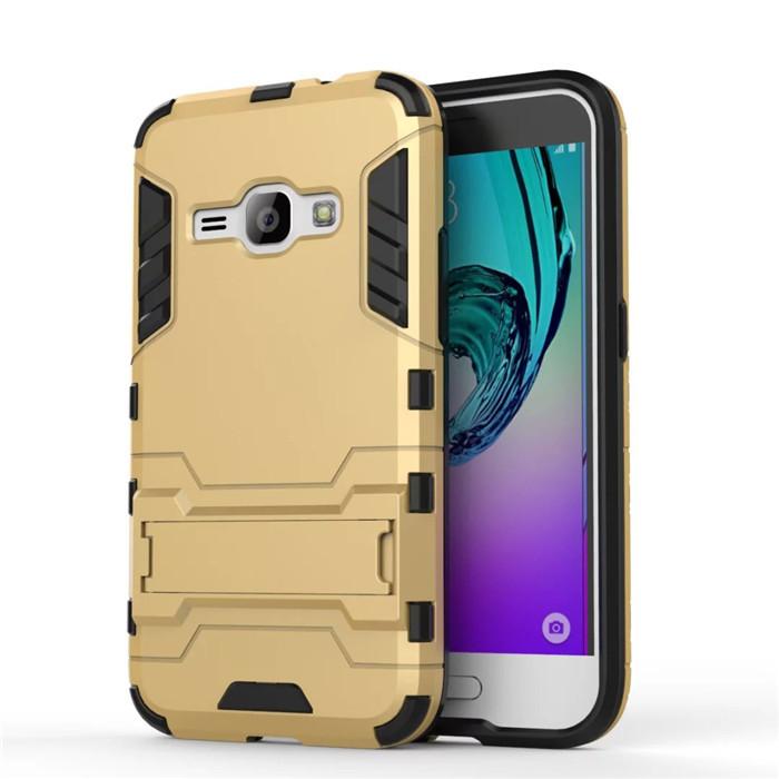 Samsung Galaxy J1 2016 Anti Knock Slim Hybrid Rugged Armor Case