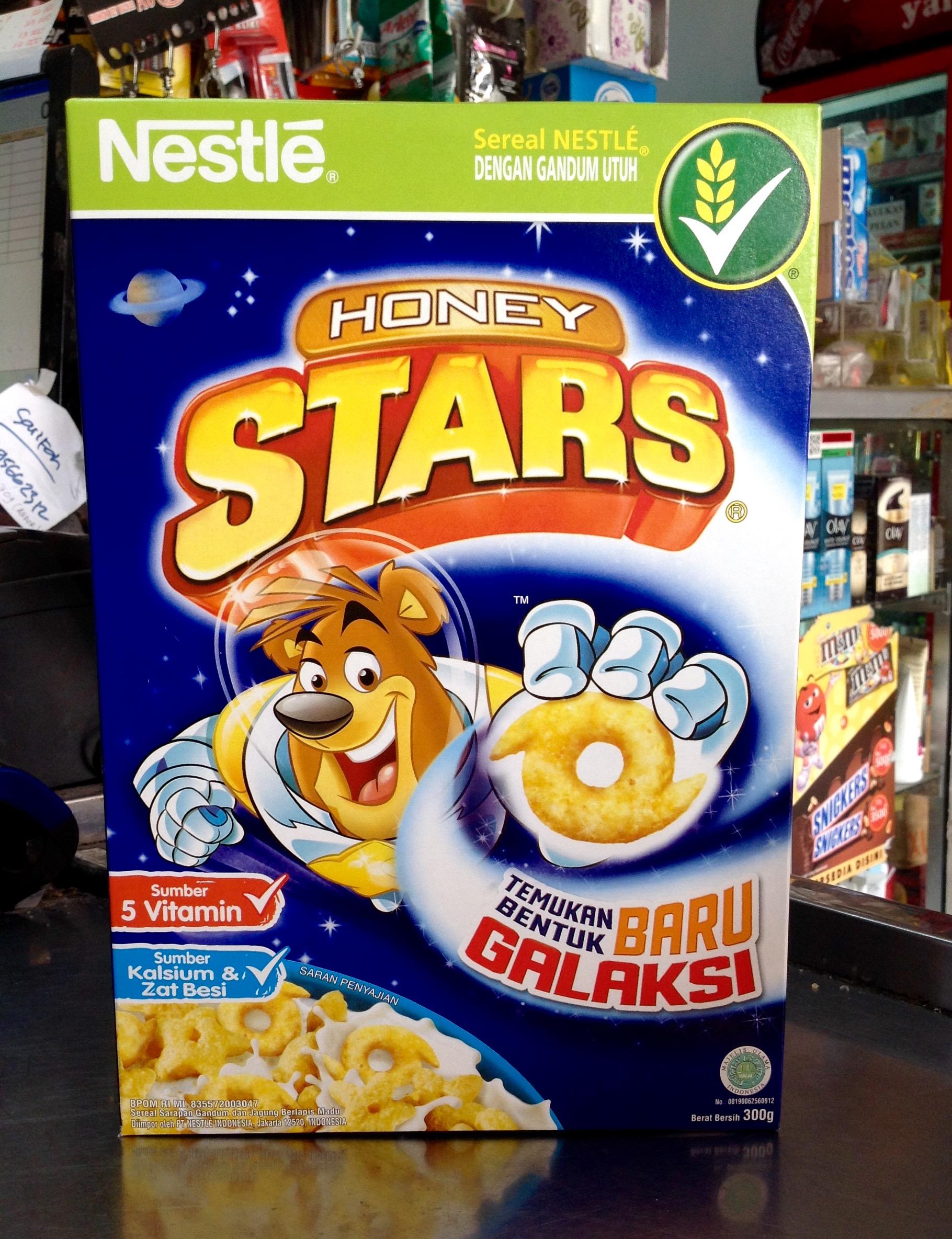 Jual Nestle Honey Stars Cereal Breakfast Box 300g Toko 21 Starbox Telkom Cempaka Baru Tokopedia
