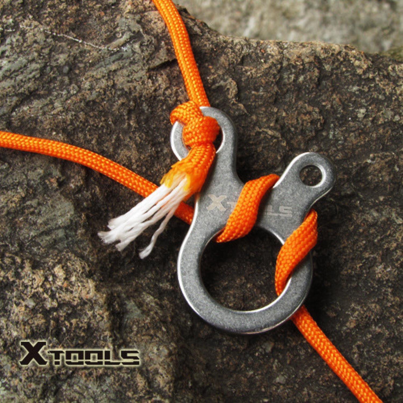 Вязание рыболовного узла snell knot