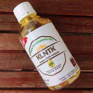 Healthy Cooking Coconut Oil ( Minyak Goreng Kelapa ) - 1000 Terlaris