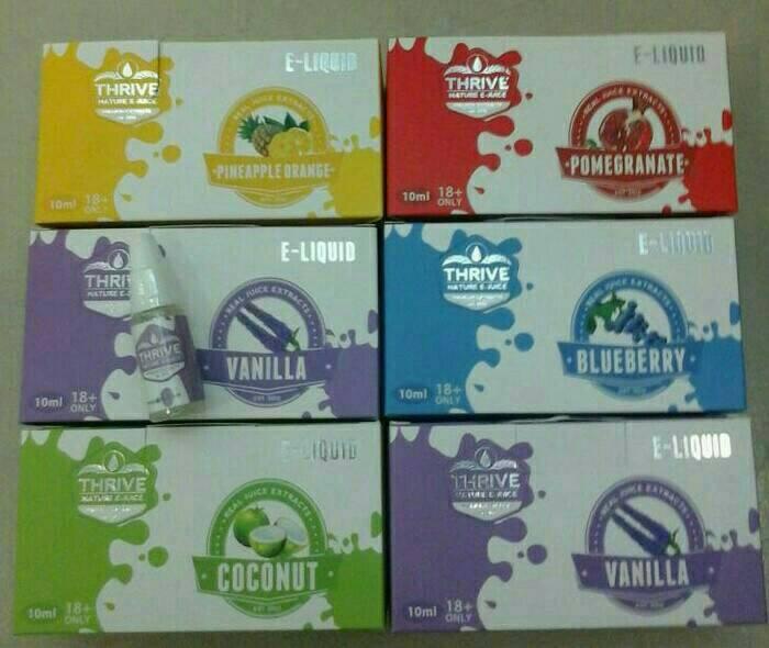 E-Liquid trive Original 0% nikotin