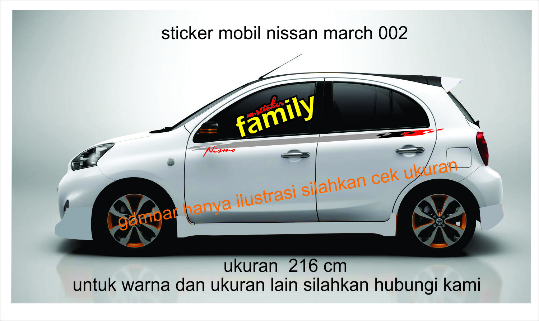 Gambar harga cutting sticker mobil nissan march